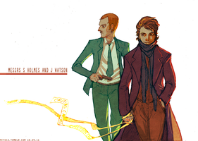 Sherlock: Messrs SH and JW by feyuca