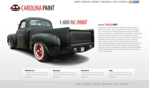 Auto Paint Shop Website 2 by dhrandy