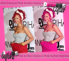 Action Famous Pink by Strawbeerry-16