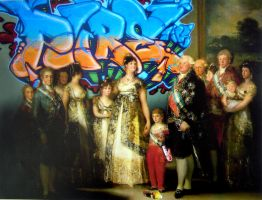 F.Goya-Family of Carlos IV by kuki-ca