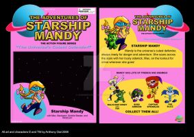 Starship Mandy Toy Package by Gummibearboy