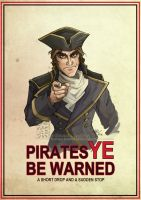 Pirates Ye Be Warned by Quarter-Virus