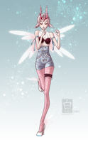 CLOSED Laecie Adopt 1 - Pixie by bailulu