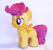Scootaloo Plush by Nifty-senpai