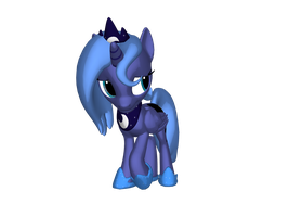Little Luna by SilverGriffinflare