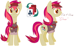 My pony OC, Five of Cloves - 'Clover' by StopShot