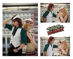 Kotetsu and Karina cosplay by ShadowDorumon