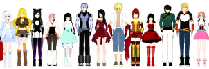 (MMDxRWBY) All these models made me realize... by naruchan101