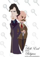 POIROT/HOLMES: The Bell-End and the Belgian by Jon-Wood