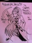 Da Captain Raina Artemis by PinkHeart-Manoon