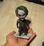 Dark Knight Joker figure by futantshadow