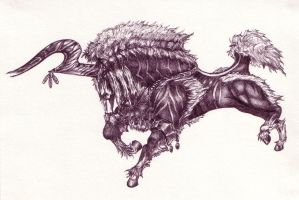 The Lightning Steed by Segaia