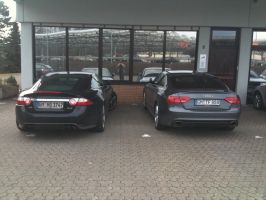 XKRS and RS5 1 by HappyLuy