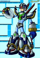 MMX4 - Fourth Armor by Shinobi-Gambu