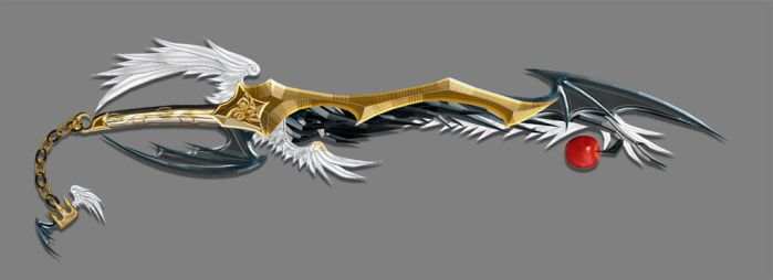 Inner Confliction Keyblade by dyyor