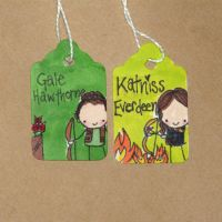 Gale and Katniss by Pinkie-Perfect