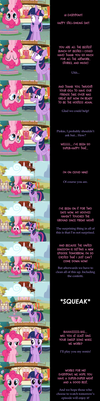 Pinkie Pie Says Goodnight: Topsy Turvy by MLP-Silver-Quill