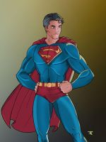 Superman by Windriderx23 by Blindman-CB