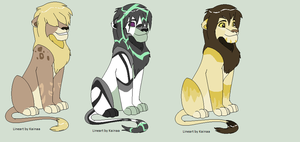 Adult Lion Adoptables OPEN by Skylar-Adopts