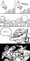 Troll Comic by SIRCollection