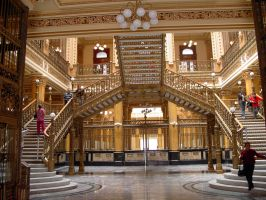 Inside Postal Palace by KenshiFox