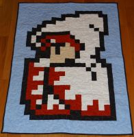 White Mage quilt by quiltoni