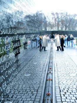 Vietnam Memorial by Vamp1resb1te