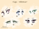 Eyes - reference by AnnaChaveiro