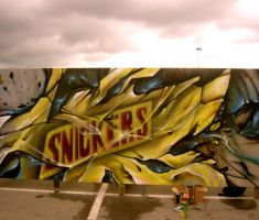 snickers comertial by shepa