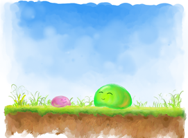 Slimes by mkravich