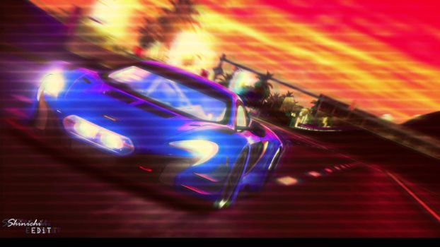 Alice's 650S GT3 (VHS RETRO EFFECT) by BLACKR0CKSHUTA