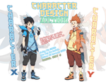 Character Design Auction (CLOSED) by ichan-desu