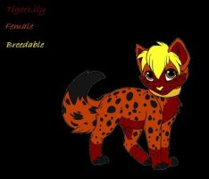 TigerLily - Female - Breedable by lubca