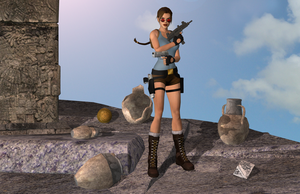 Classic Lara 7 by tombraider4ever