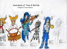 Guardians of Time and Worlds by hypergirlnirani