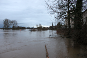 Seligenstadt Flood Panoramic 2 by mifuno