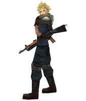 Cloud Strife: Shinra Infantry by Walker93