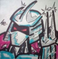 Shredder 2003 Sticky Pad by dark-es-will