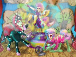 My Little Centaur: The Show Stoppers by GeiYin