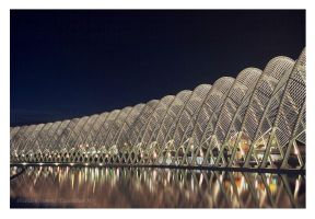 kalatrava bridge by poseidonsimons-s