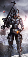 Mass Effect 3 Demolisher N7 (2013) by RedLineR91