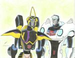 Prowl and Jazz Transformers Animated by ailgara