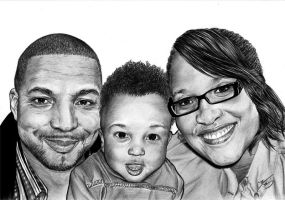 Happy Family by inyourfacemakeupart