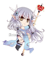 Commission chibi character by arisa-chibara