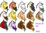 Mares of DA 2007 by Jackpot700