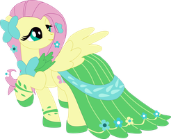 Gala Fluttershy Shadowbox Mock-up by The-Paper-Pony