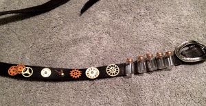 Steampunk belt by Adriellovesart