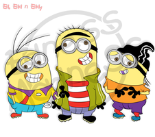 Eds Minions by Edness-Madness