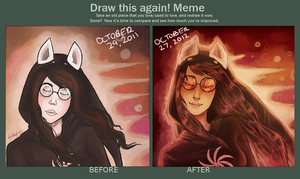 Improvement meme by GhostlyStatic