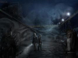 Silent Hill by ToxicRedWater